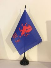 ROYAL WELCH FUSILIERS TABLE FLAG (MEDIUM 22.5cm x 15cm)
